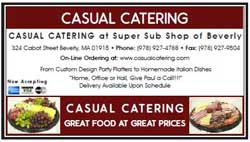 casual catering