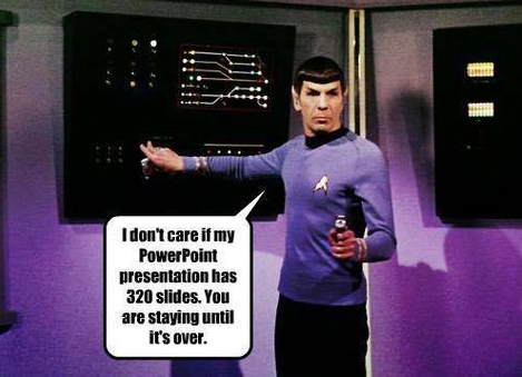 spock giving directions